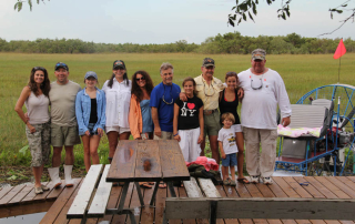 Bergeron Family in the Everglades