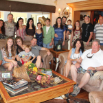 Bergeron Family at Thanksgiving