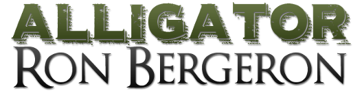 Alligator Ron Bergeron Retina Logo