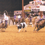 Ron Bergeron and Billy Culligan at the Davie Jackpot Rodeo