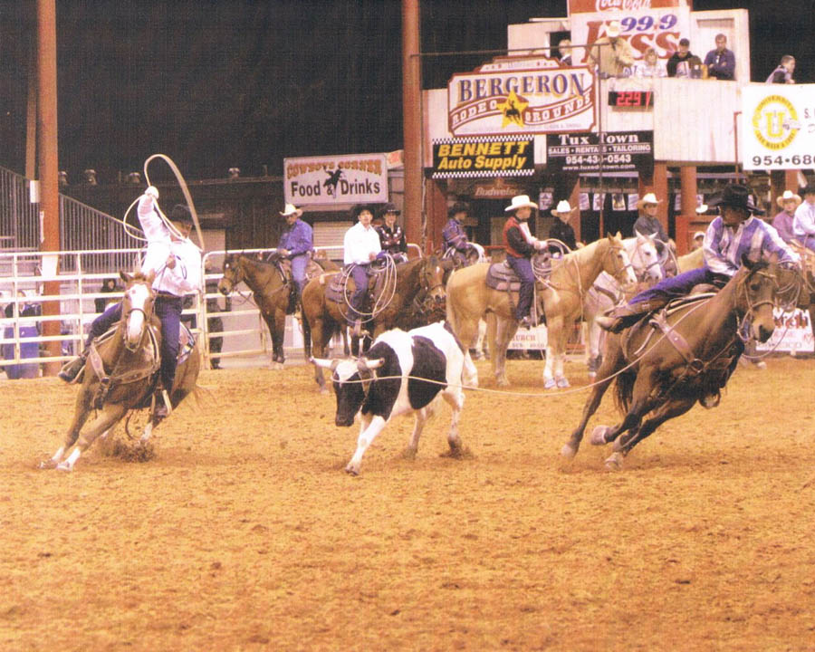 Bergeron Rodeo Grounds Alligator Ron Bergeron